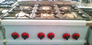 cocinas de mesa CON 3-4-6 QUEMADORES