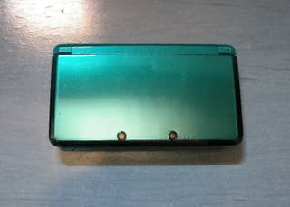 Usado, Nintendo 3DS azul metálico compacta segunda mano  España