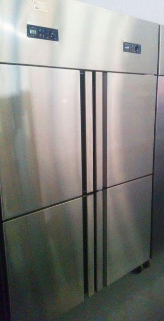 armarios de 4 HASTA 6 puertas de acero inoxidable