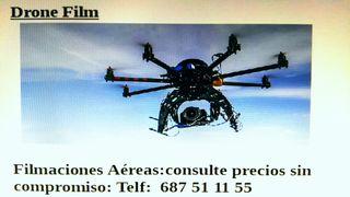 Grabación profesional video y fotografía con Dron.