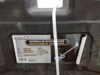 maletín batidora de pintura o cemento cola 1600W
