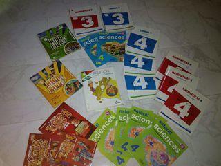 libros 3 y 4 primaria e infantil