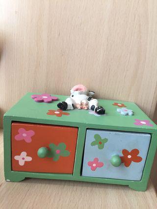 Joyero caja mueble cajonera