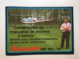 Catálogo Graupner 1973 / 74
