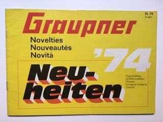 Catálogo Graupner '74
