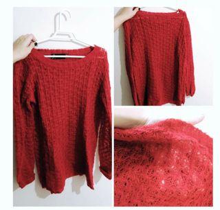 Jersey rojo.