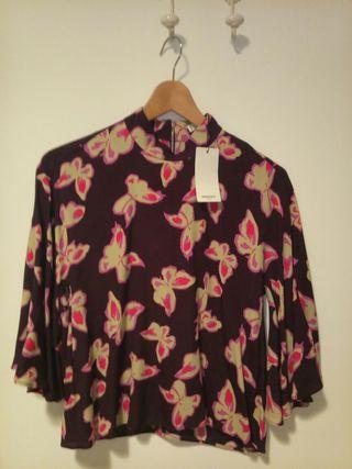 Camisa Mango Suit talla M