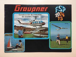 Catálogo Graupner 1974 / 75