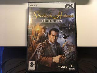 PC Sherlock Holmes Rey Ladrones