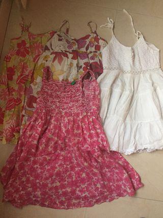 Pack vestidos niña verano