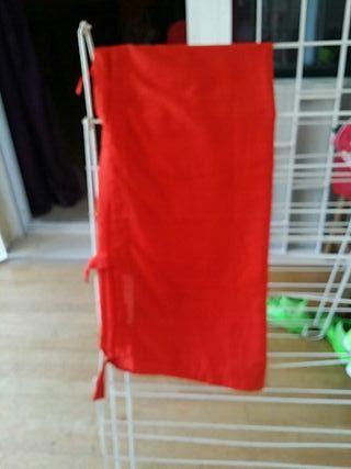 cortinas rojas