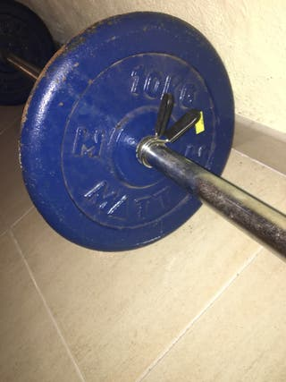 Barra de pesas