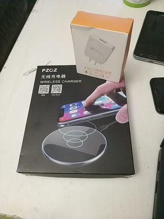 Cargador inalámbrico para Samsung S8 y S9