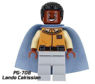 Lando Calrissian-Star Wars Minifigures Lego Comp