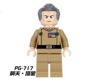 Gran Moff Tarkin-Star Wars Minifigures Lego Comp