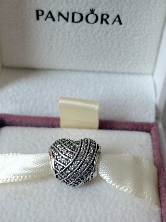 Pandora Love Lines Heart Bracelet Charm