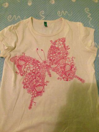Camiseta talla s benetton
