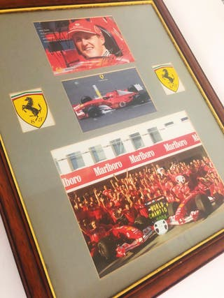 Signed 7x F1 Champion Michael Schumacher & F1 Car