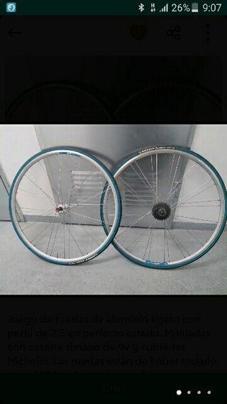 2 ruedas bici de carretera