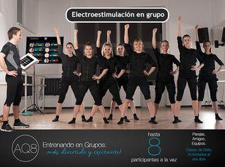 AQ8 CHALECO DE ELECTROESTIMULACIÓN