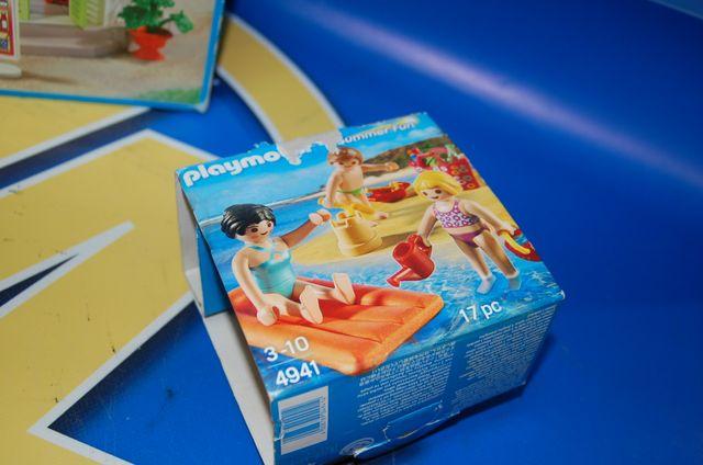 Lote Playmobil-summer fun -dos cajas de playmobil