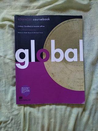 Libro de inglés Global ADVANCED coursebook