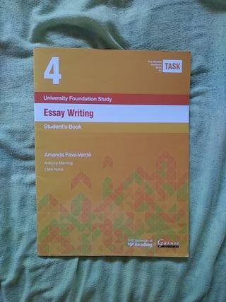 Libro ESSAY WRITTING 4 student's book