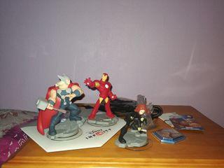 Figuras Disney Infinity Marvel 2.0