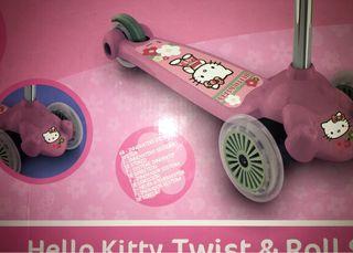 Patinete de Hello Kittie