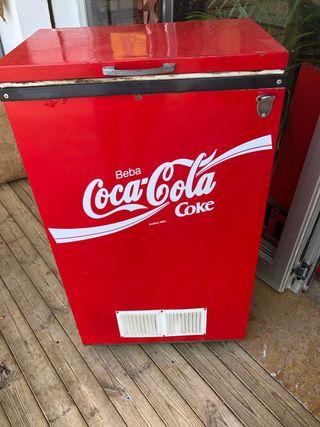 Nevera de Coca cola vintage