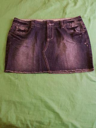 Minifalda Easy Wear,talla 40