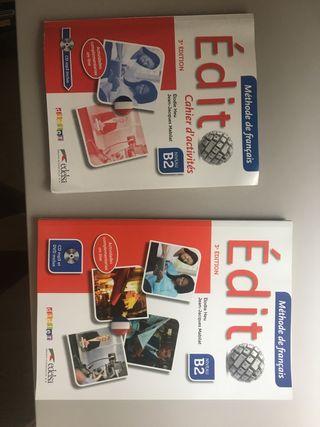 Libros Édit nivel B2 francés