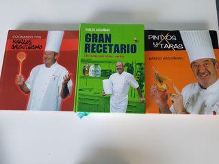 Libros recetas Arguiñano