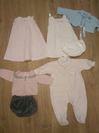 lote ropa bebe talla 0-6 meses