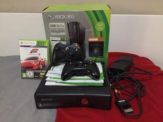 Xbox 360 250GB/GO NEGRA