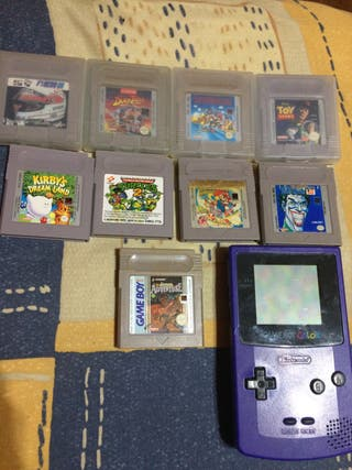 Consola nintendo game boy color
