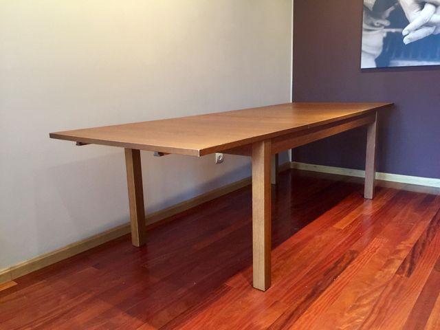 Mesa comedor extensible IKEA BJURSTA de segunda mano por 99 € en ...