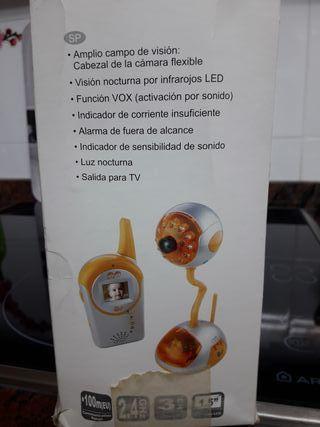 cámara de vigilancia bebés