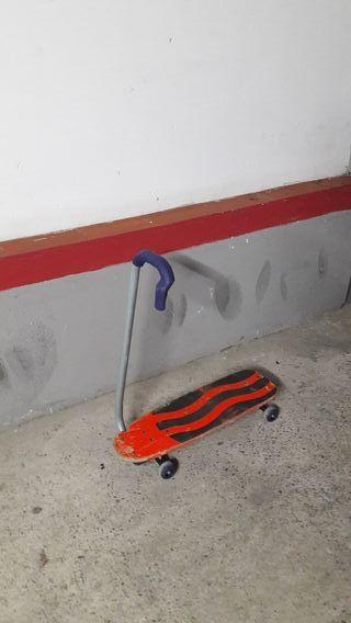 Skate Monopatin con manillar plegable