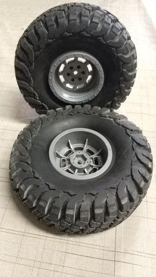 vendo ruedas de Radio Control.