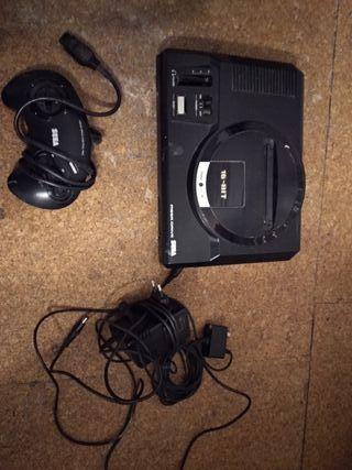 Mega Drive completa con mando