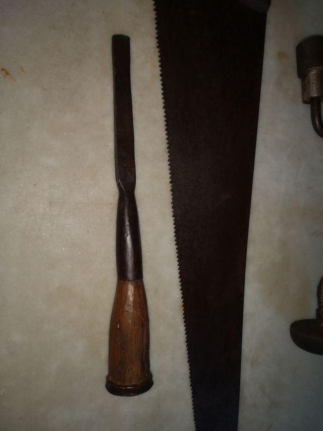 antigua herramienta de ebanista