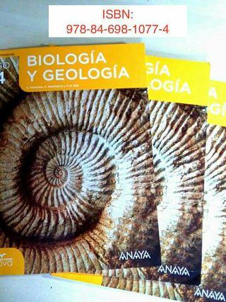 Biologia y geologia 4° ESO
