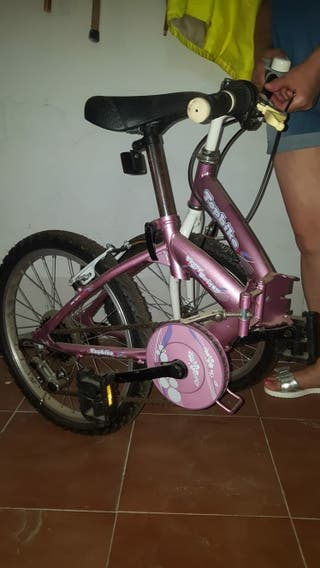 Bicicleta plegable chica