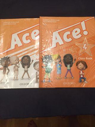 Ace 4 Oxford. 4º primaria 10€ los dos libros