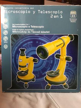 Microscopio y telescopio
