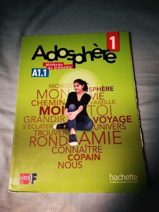 Adosphere 1. A1. 1. Methode Francais.