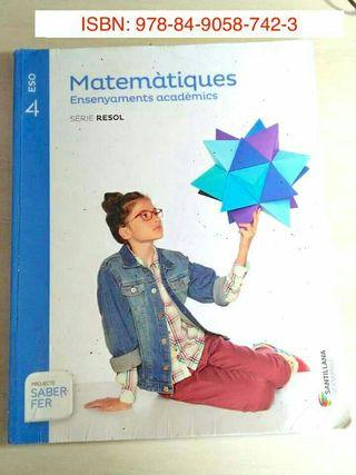 Matematiques 4° ESO
