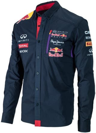 Camisa Hombre Pepe Jeans Red Bull Racing, Talla L