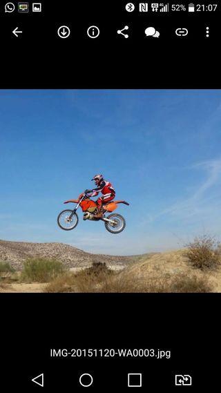 KTM en duro